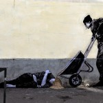 "Levalet ""The Sandman"" New Street Piece – Paris, France"