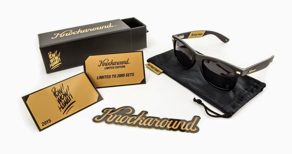 Fashion: Knockaround x POW! WOW! Hawaii 2015 Sunglasses