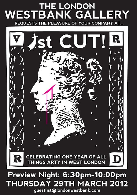 """First Cut"" New Group Show With Ben Slow, Liliwenn, Zeus… London March 29th"