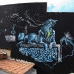 Kraser New Street Art In Athens, Greece