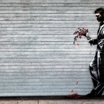 "Banksy ""Waiting In Vain.."" New Street Art – Hell's Kitchen"