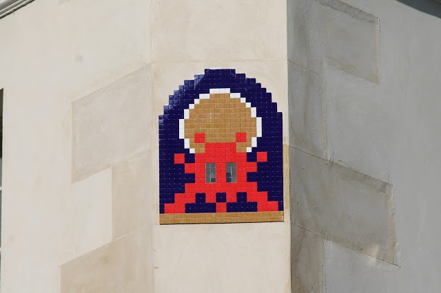 """PA_1171 & PA_1173"", new invasions by Invader in Paris, France"