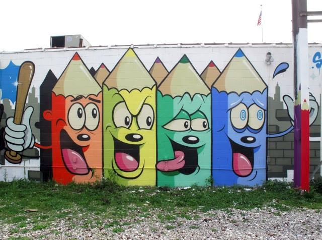 Dabs Myla New Murals In Detroit