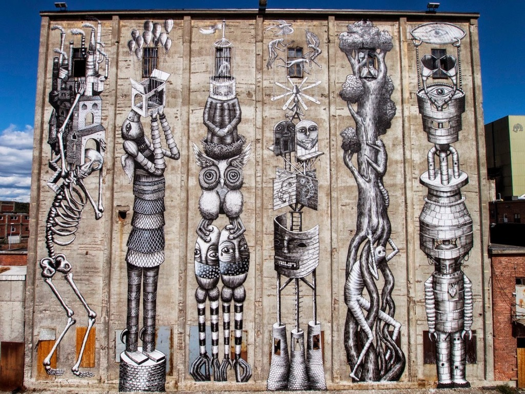 Phlegm New Mural – Moss, Norway