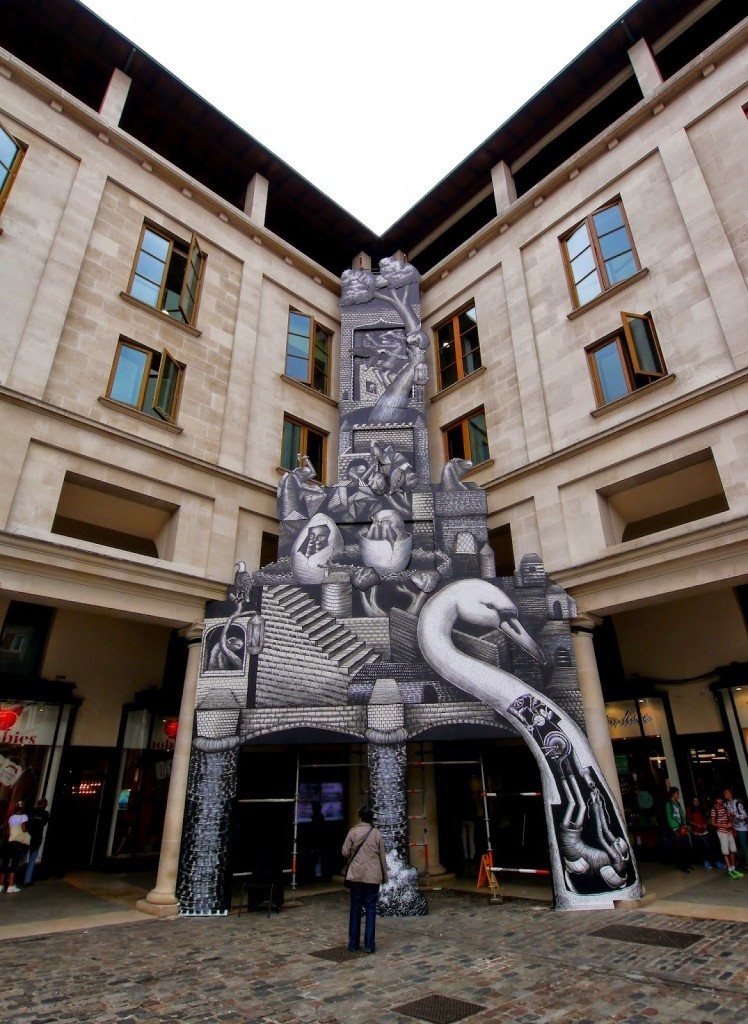 Phlegm New Installation For Royal Opera House – London, UK