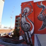 Phlegm New Mural For Public Festival – Perth, Australia