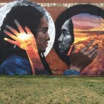 LNY paints a massive wall in Newark, New Jersey