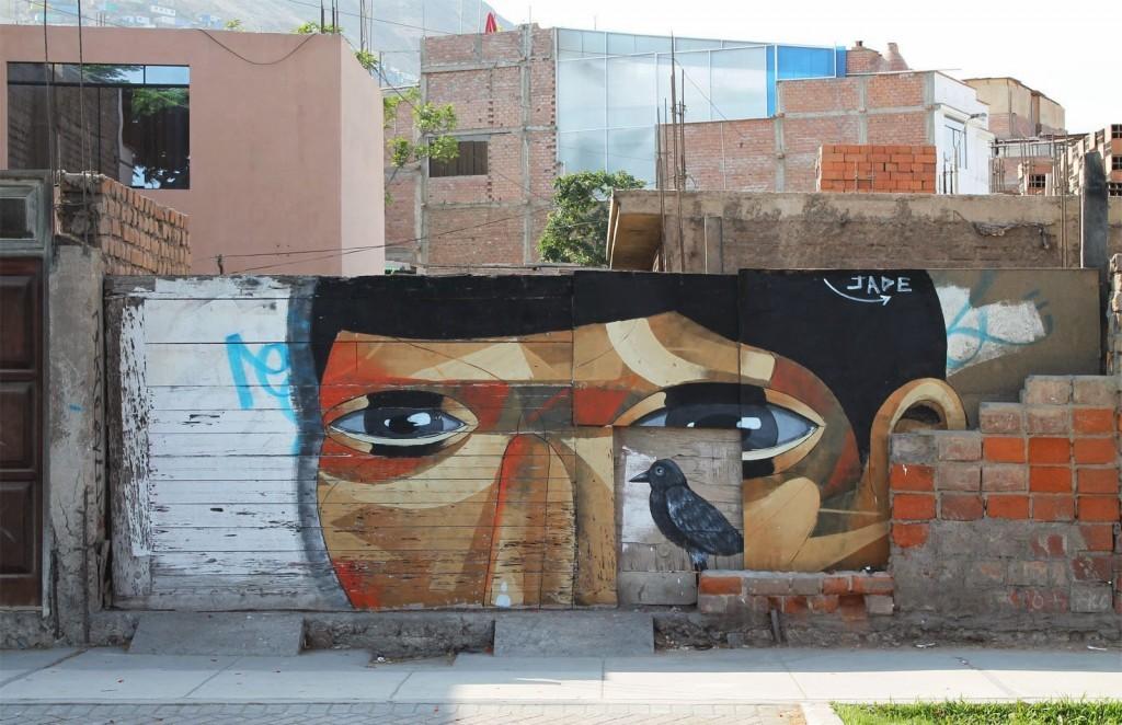 "JADE ""The Host"" New Mural – Lima, Peru"