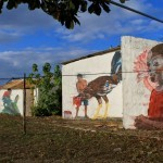 JADE paints a series of new pieces in Rio San Juan, Dominican Republic