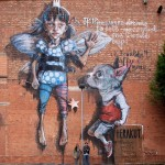 """Herakut """"If There Were Dreams To Sell – Guess Wich One I Would Buy!"""" New Mural In Bristol"""