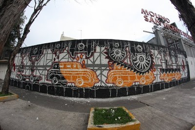 M-CITY New Murals In Mexico City