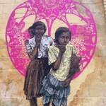 Swoon 'Sambhavna' New Street Piece In Los Angeles