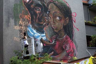 Herakut New Mural In Cologne, Germany