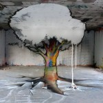 "Papy x Milouz (TSF Crew) ""The Tree"" New Mural In France"