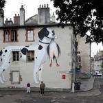 "Escif ""La Propriete"" New Mural In Besancon, France"