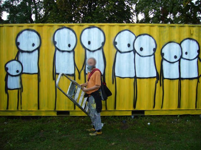 Stik New Murals In Gdansk, Poland