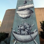 Phlegm New Murals In Zagreb, Croatia Part II