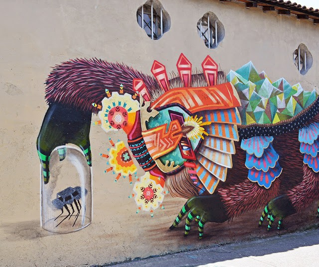 Curiot New Mural in Mexico City, Mexico