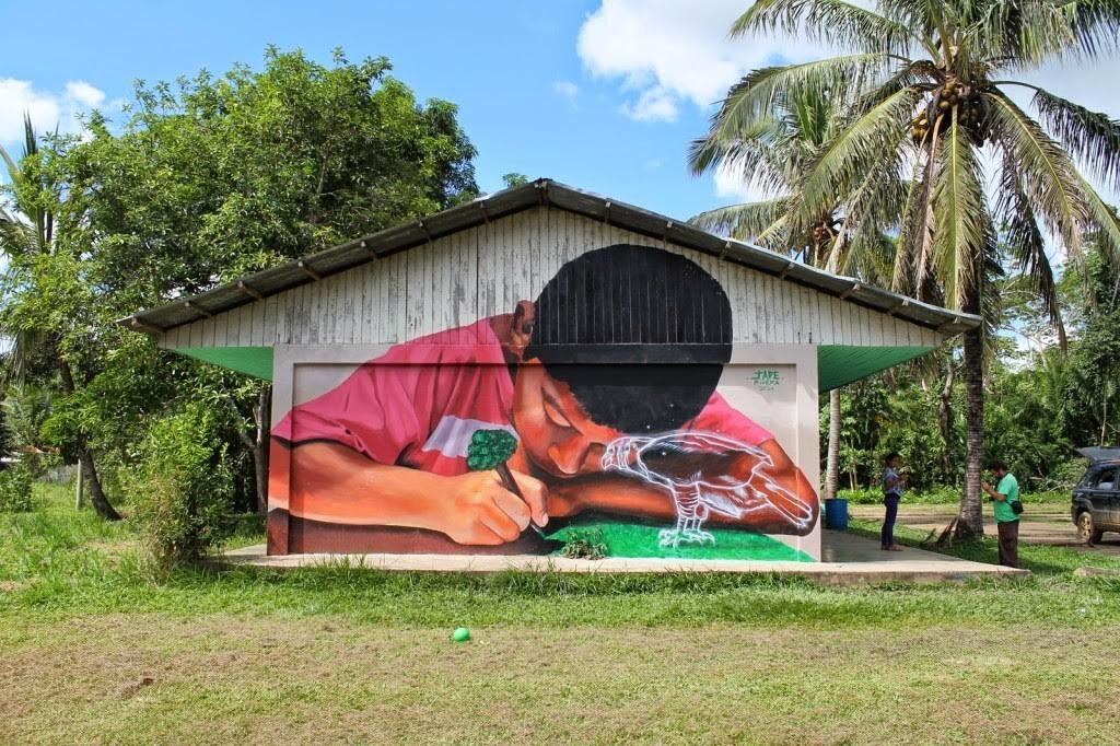 JADE New Mural – Puerto Maldonado, Peru