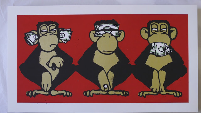 "Mau Mau ""3 Monkeys"" New Print Available May 3rd"