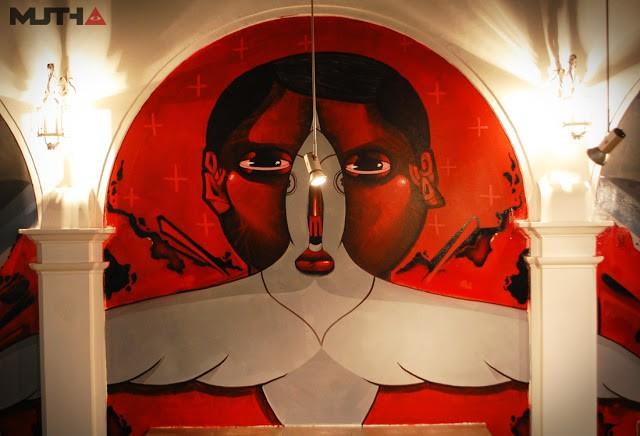 Jade x Dear New Mural In Lima, Peru
