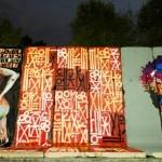 RETNA, D*Face New Murals In Los Angeles