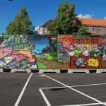 Da Mental Vaporz (Dran, Bom.K, Sowat…) New Mural In Copenhagen, Denmark