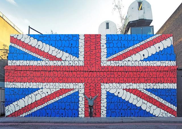 Tilt New Mural In London