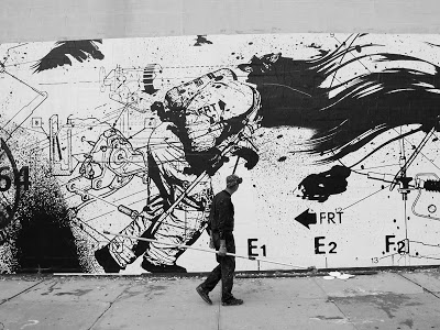 "WK Interact ""Project Brave"" New 9/11 Commemorative Mural In NYC"