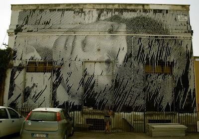 STEN & LEX New Mural In Foligno, Italy