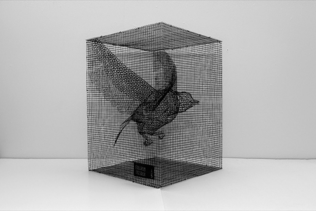 "Edoardo Tresoldi ""Reason"" Limited Edition Wire Mesh Sculpture – Available April 30th"