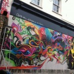Stinkfish New Mural On Brick Lane, London