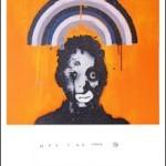 3D Del Naja 'Heligoland Orange Glitter' & 'Heligoland Black Glitter' Available 30th November