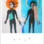 3D Del Naja 'Splitting The Atom Black Glitter' & 'Splitting The Atom Silver Glitter' Prints Available Today