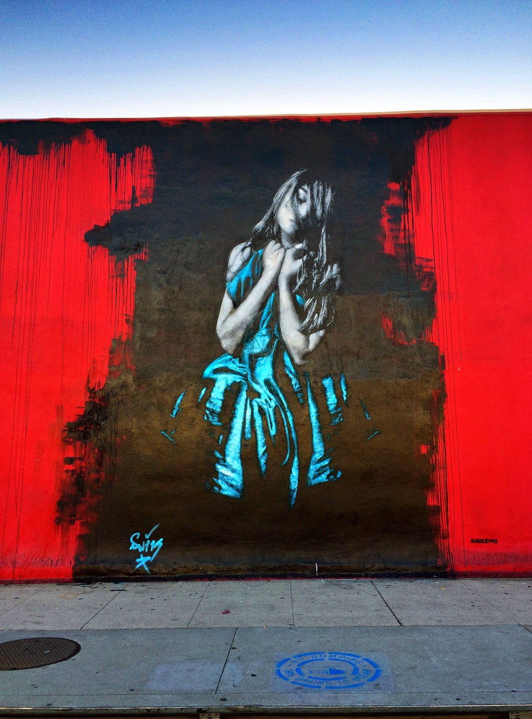 Snik New Street Pieces - Los Angeles, USA