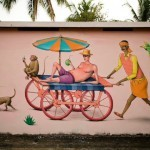 Interesni Kazki New Murals In Varkala, India