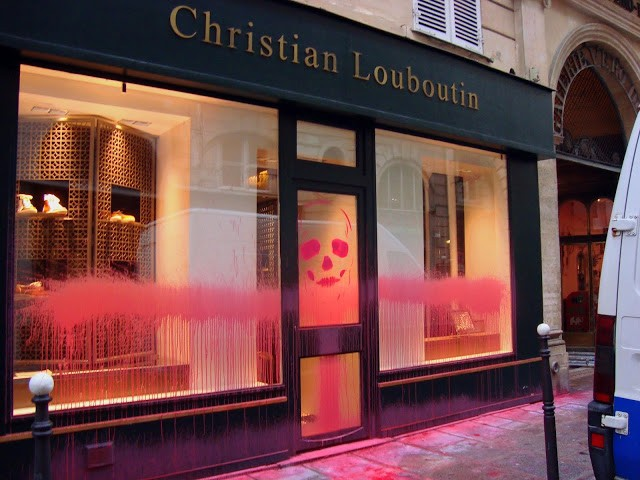 christian louboutin in paris france