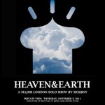 "Sickboy ""Heaven & Earth"" New Solo Show, London November 3rd"