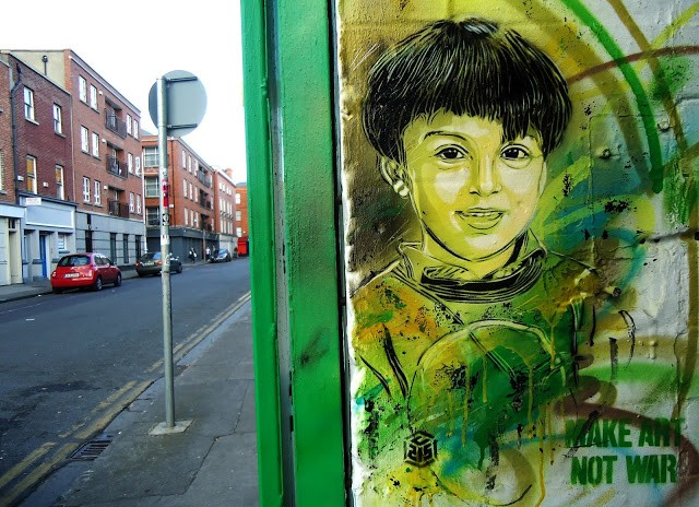 C215 New Street Pieces In Dublin, Ireland