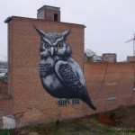 ROA New Mural In Hasselt, Belgium