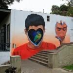 JADE paints a striking mural in Barranco, Lima