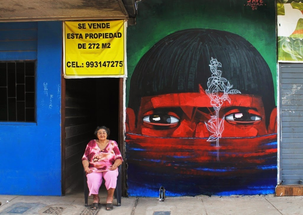 "JADE ""Flora"" New Mural – Puerto Maldonado, Peru (Part II)"