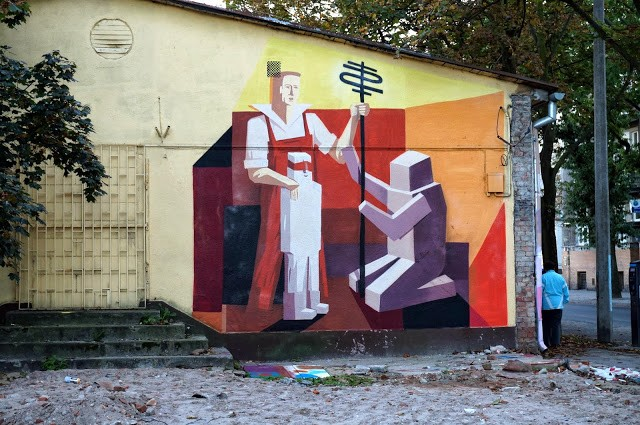 Jacyndol New Street Art Pieces – Miechucino & Gdynia, Poland