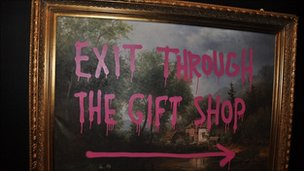 Banksy 'Exit Through The Gift Shop' Up For Documentary Oscar