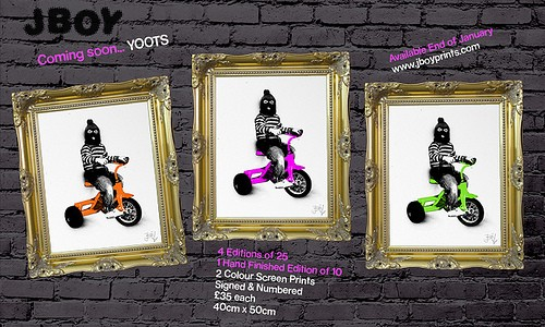 Win The New JBOY Print 'YOOTS'