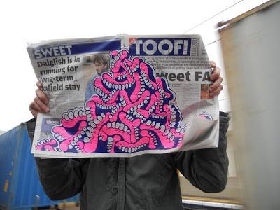 Sweet Toof Customised Newspapers Hunt Today In London