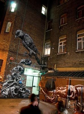 ROA New Mural In Peckham London
