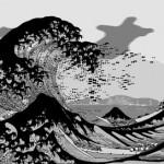 "Pure Evil ""Hokusai Tsunami"" Charity Print For Japan Available Now"