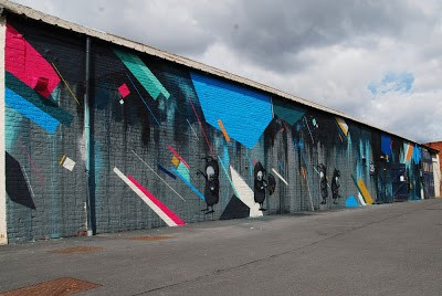 Remi/Rough x Stormie Mills New Mural In Newcastle