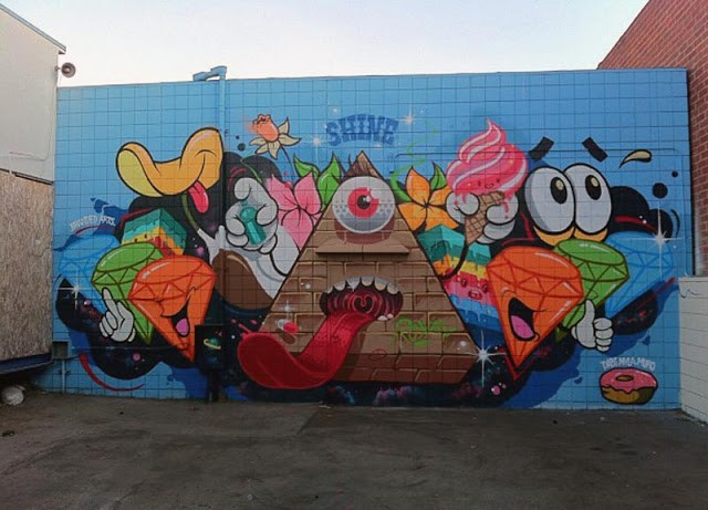 Dabs Myla x MURO New Mural In Los Angeles